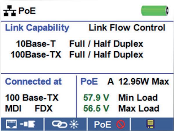 Тестирование возможности соединения с Ethernet.