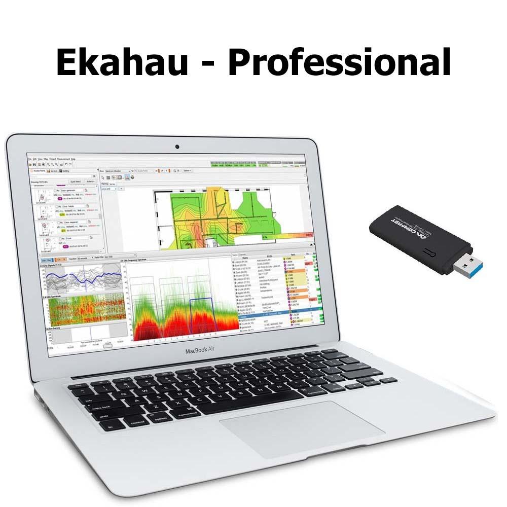 Анализатор WiFi сети Ekahau Site Survey 9 x Professional +