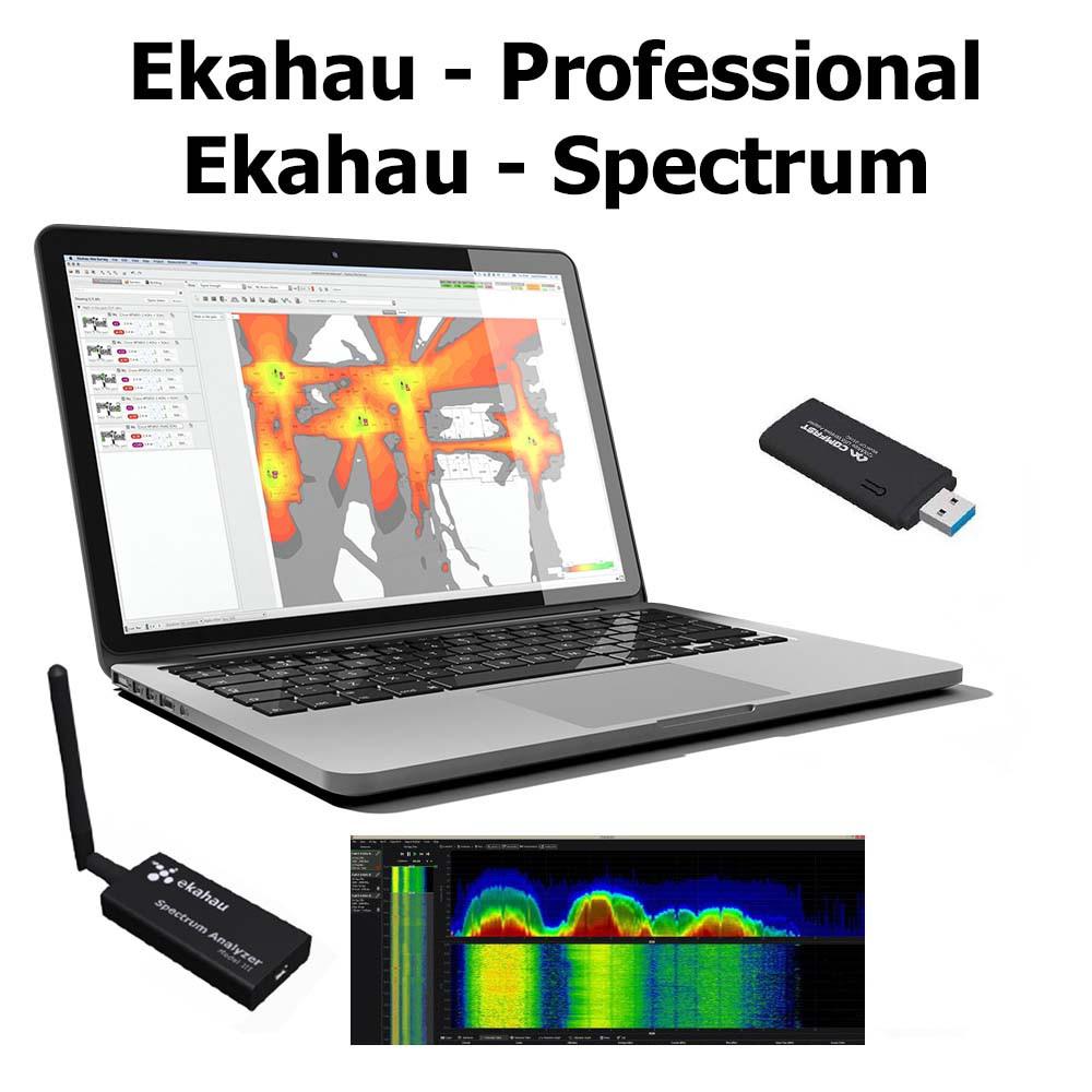 Комплект: Анализатор WiFi сети Ekahau Site Survey 9 x
